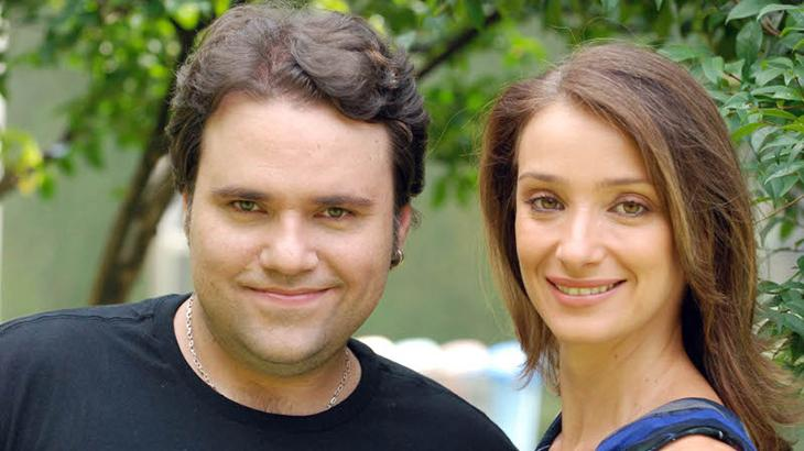 Rodrigo Rodrigues e Sabrina Parlatore na TV Cultura
