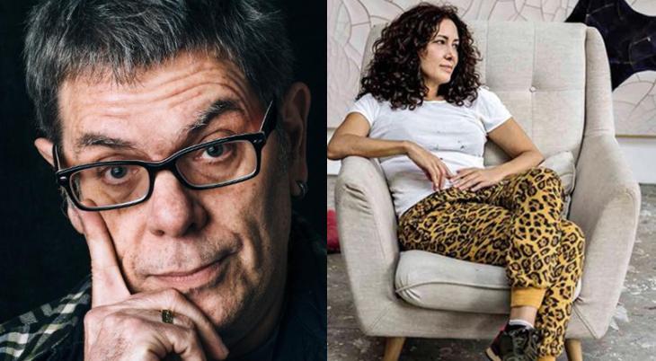 Roger Moreira e Adriana Varejão