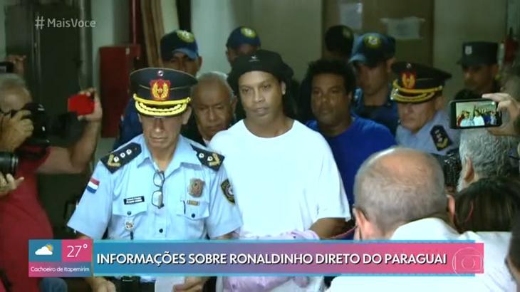 """Ana Maria Braga acompanha caso de Ronaldinho Gaúcho e se choca: \""""Que confusão\"""""""