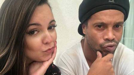 Ronaldinho e Priscilla Coelho