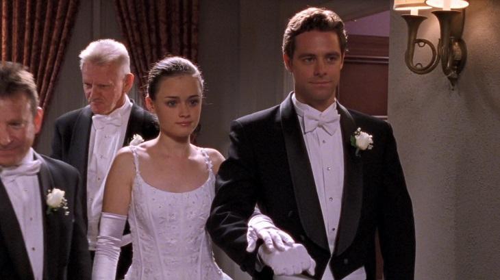 David Sutcliffe e Alexis Bledel em Gilmore Girls