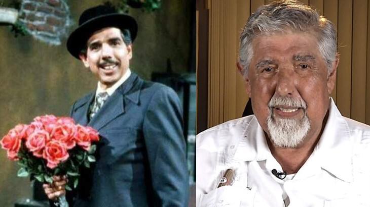 Rubéns Aguirre como Professor Girafales na vila do seriado Chaves