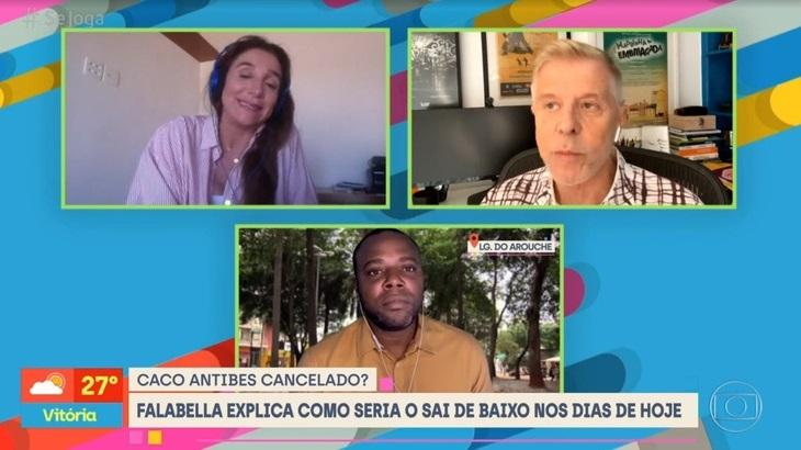 Marisa Orth e Miguel Falabella em entrevista a Érico Brás no Se Joga