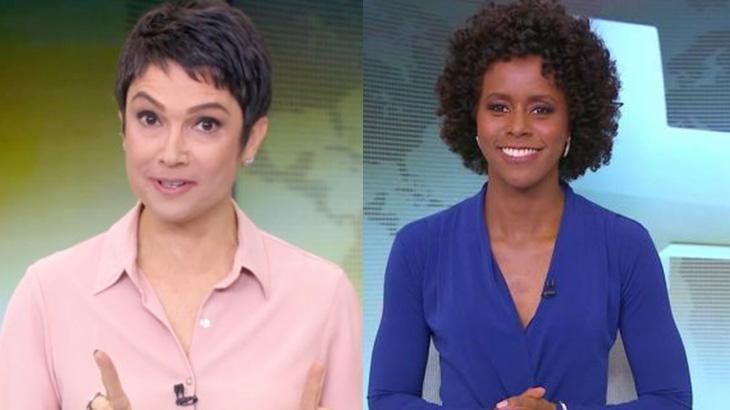 Sandra Annenberg e Maria Júlia Coutinho