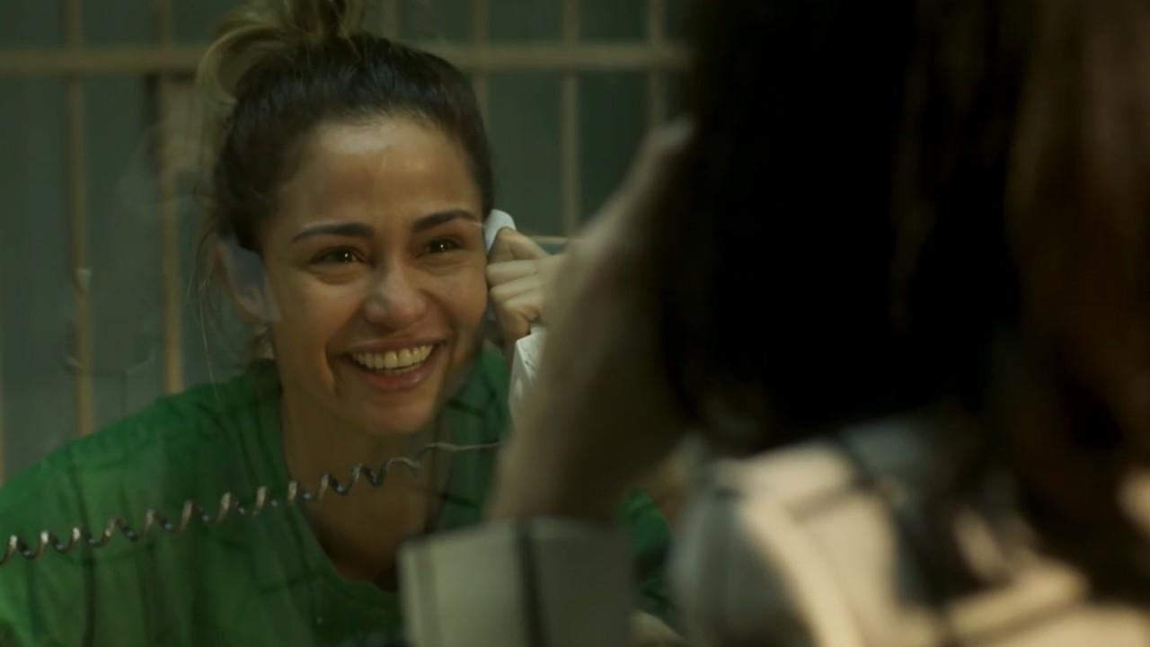 Sandra Helena na prisão