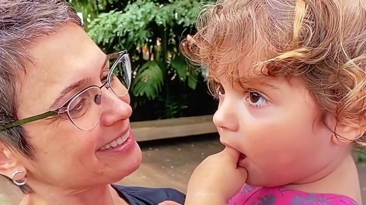 Sandra Annenberg e neta