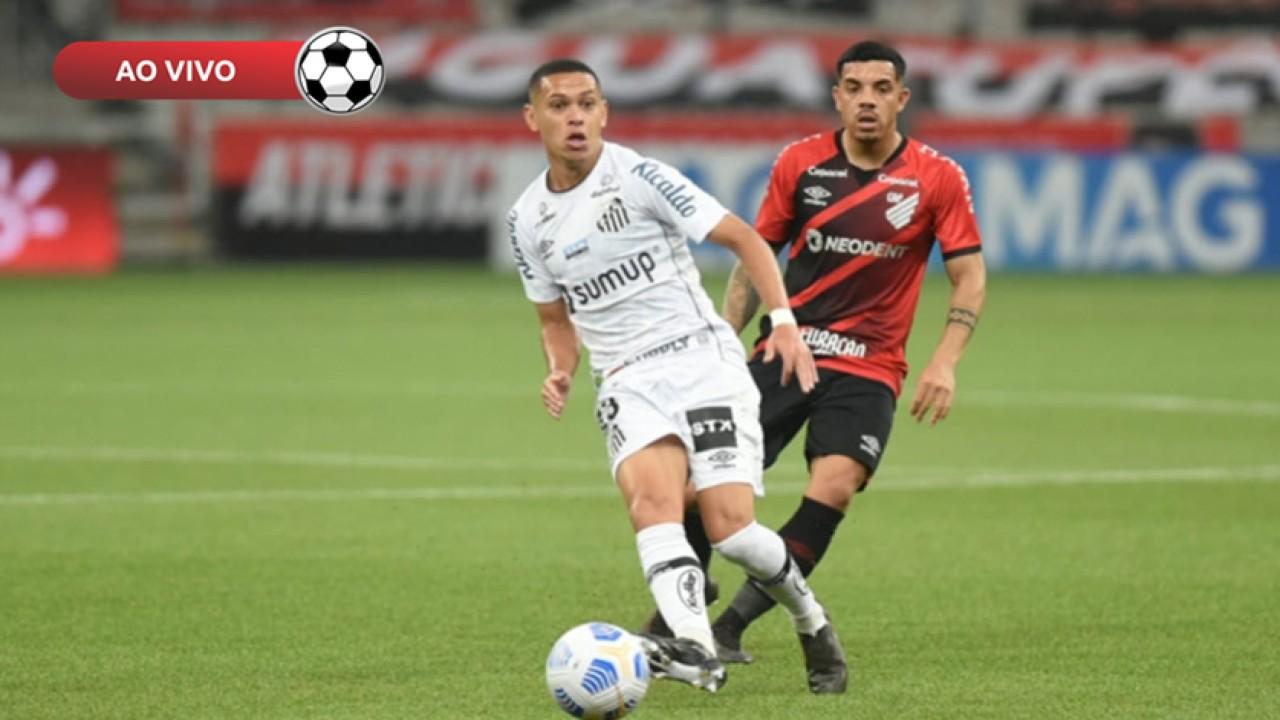 Santos x Athletico PR