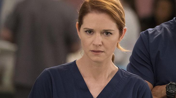 Sarah Drew em Grey's Anatomy