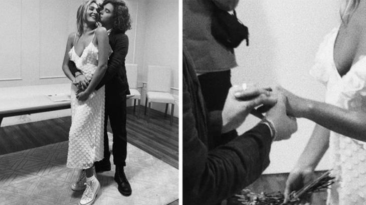 Sasha Meneghel e João Figueiredo posam abraçados