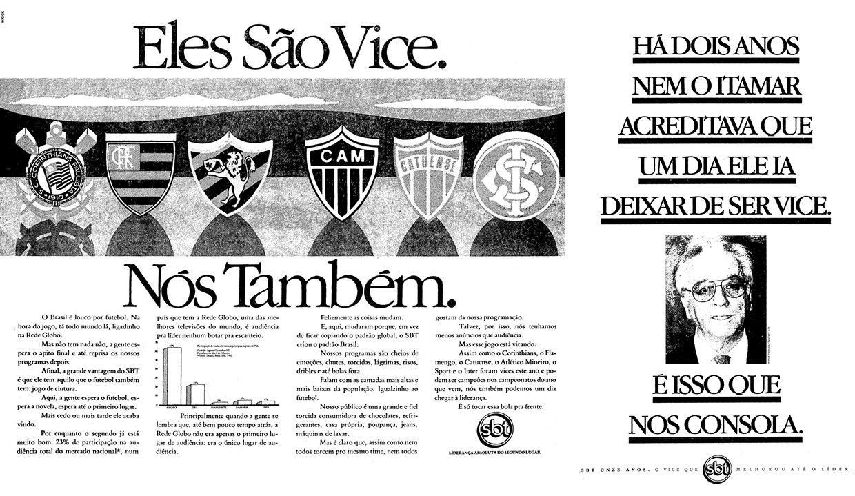 SBT: 40 anos de uma marca fora dos padrões