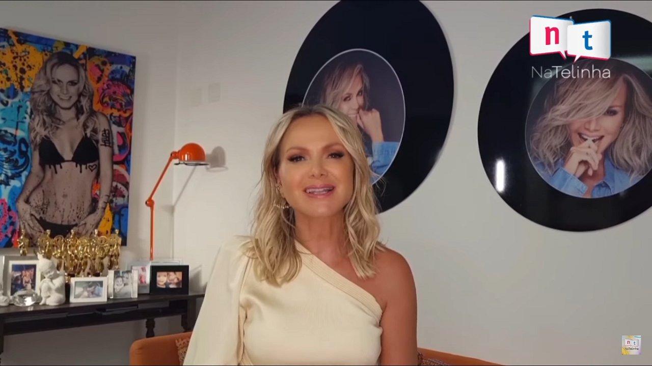 Eliana em entrevista ao NaTelinha
