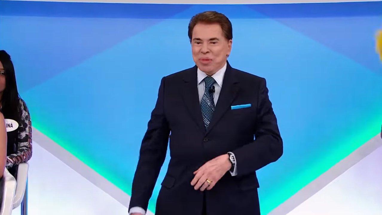 Silvio Santos em seu programa