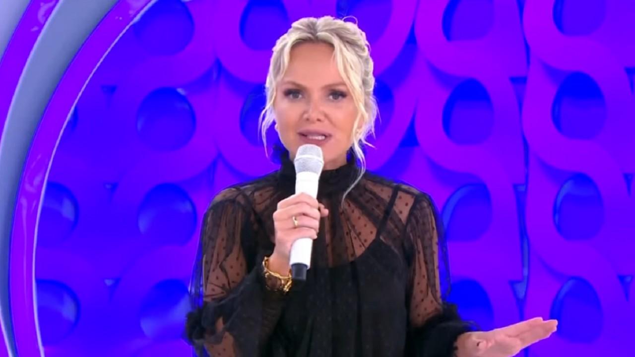 Eliana no seu programa no SBT