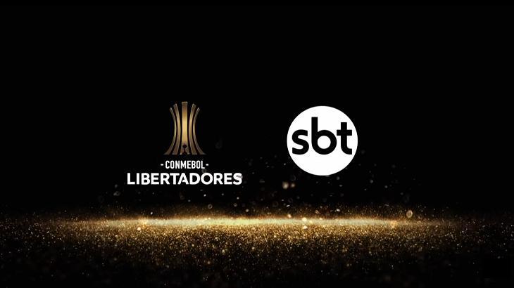 Logotipo Libertadores no SBT