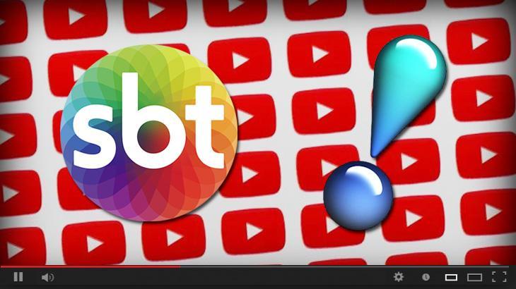 Logotipos de SBT, RedeTV! e YouTube