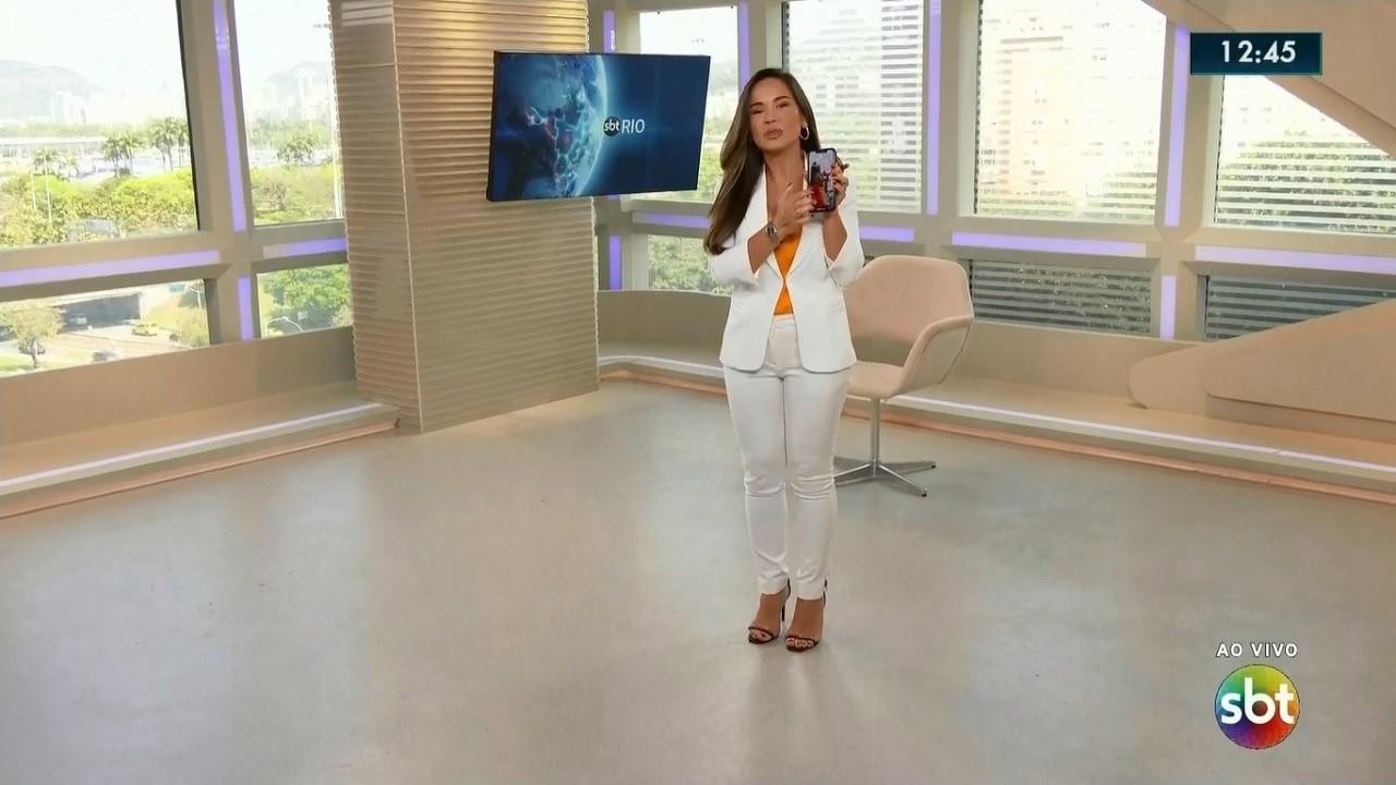 Isabele Benito no SBT Rio