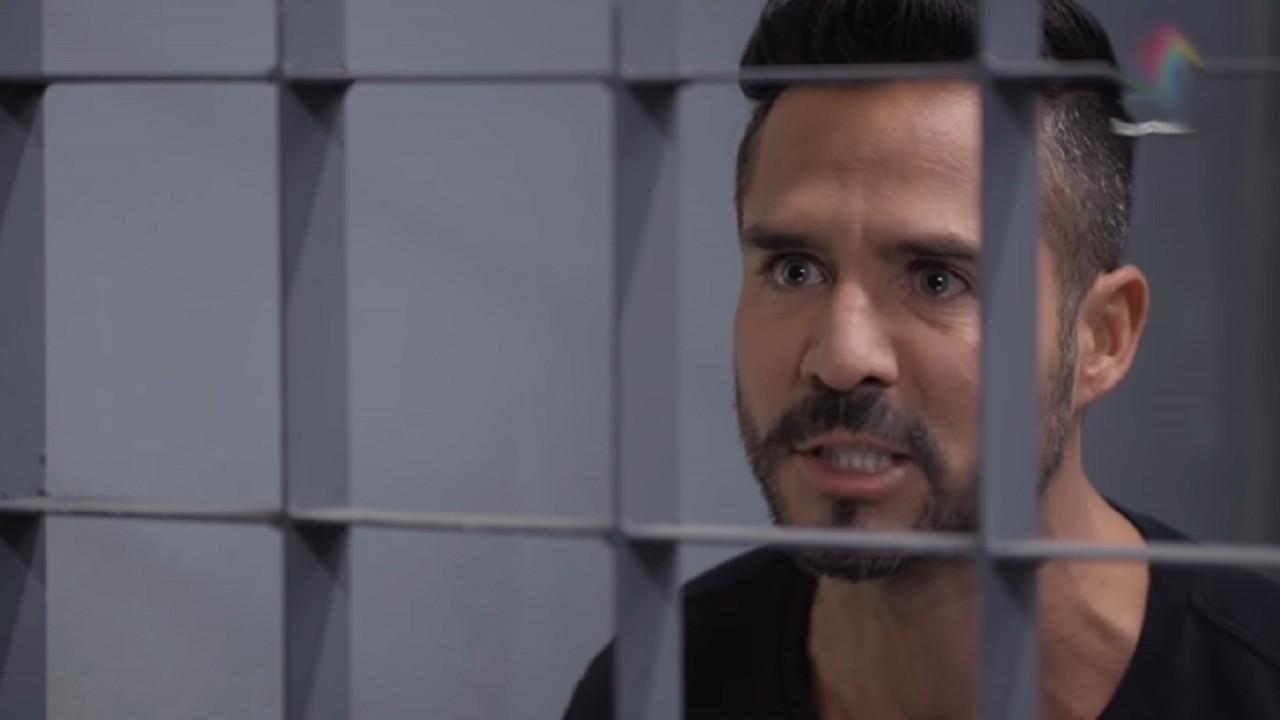 Cena de Te Dou a Vida com Pedro preso