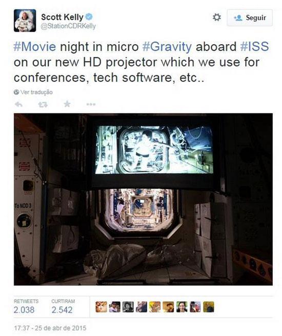 """NASA confirma exibição de \""""Star Wars - Os últimos Jedi\"""" para astronautas que estão no espaço"""