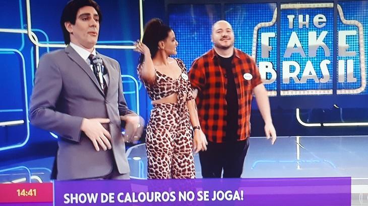 Globo liberal: Marcelo Adnet imita Silvio Santos e seus programas no Se Joga