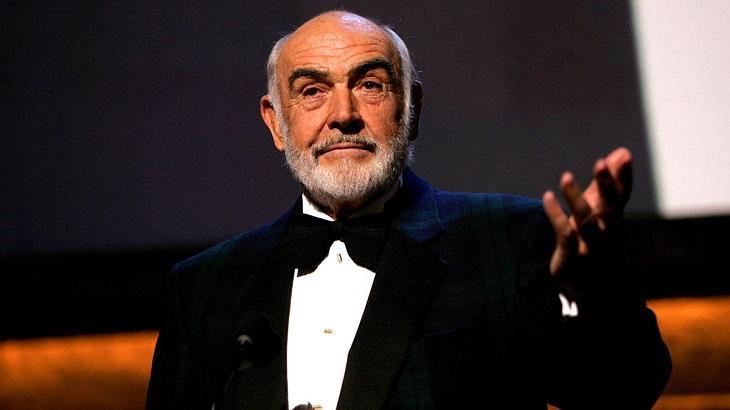 Sean Connery em premiação