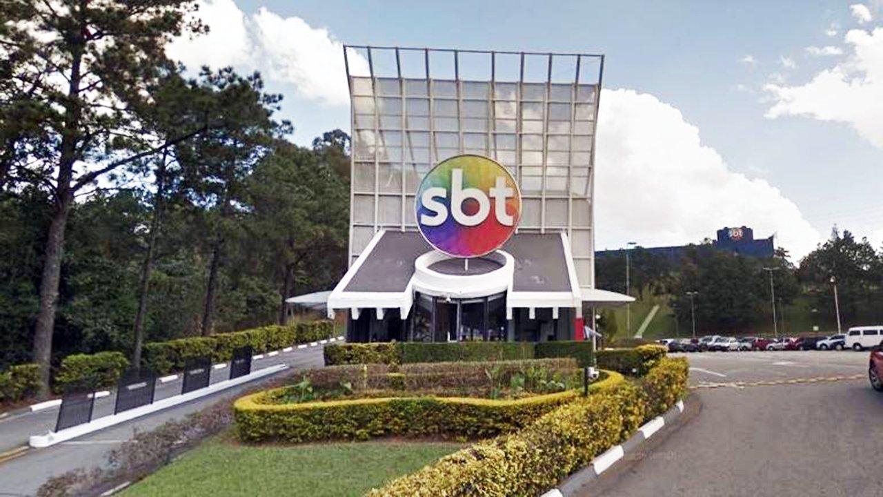 Fachada da sede do SBT