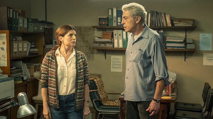 Débora Bloch e Paulo Gorgulho em Segunda Chamada