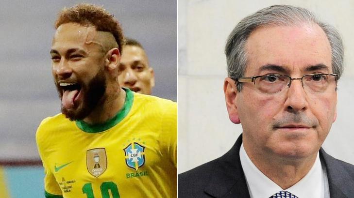 Eduardo Cunha fez propaganda da Copa América