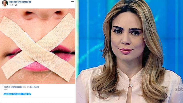 """O início do fim da era Rachel Sheherazade no \""""SBT Brasil\"""""""