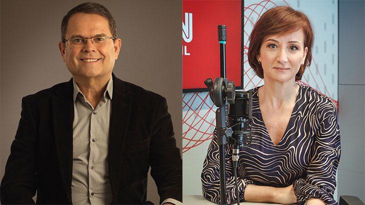 Com ex-globais, CNN caça audiência fora da TV e estreia no rádio