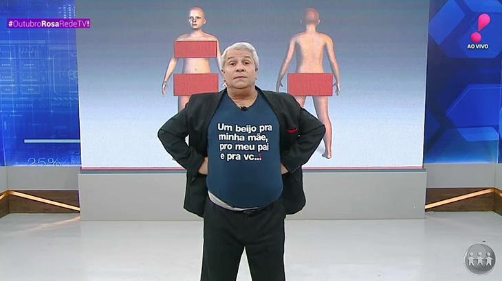 Sikêra Jr é denunciado ao MP por associar Xuxa a pedofilia