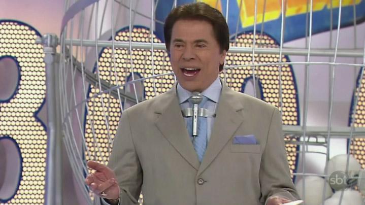 Silvio Santos na Tele Sena