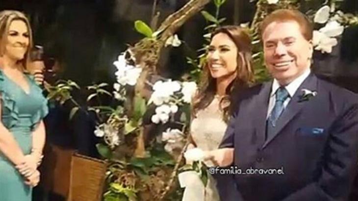 """Silvio Santos compara as filhas: \""""Patrícia já nasceu com carisma; a Silvia é esforçada\"""""""