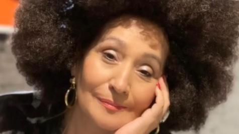 Sônia Abrão de black power