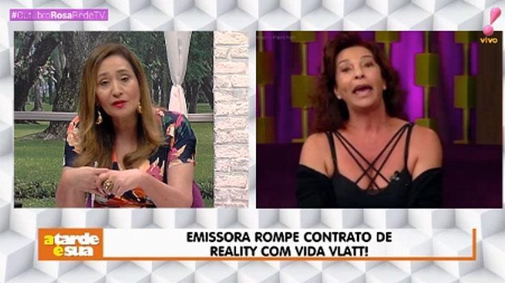Sonia Abrão e Vida Vlatt