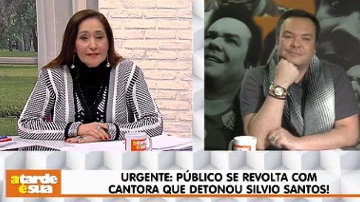 """Gaby Amarantos mantém crítica contra Silvio Santos e Sônia Abrão diz: \""""Tenha vergonha na cara\"""""""
