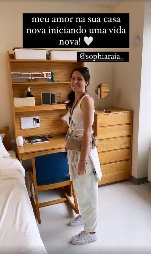 """Claudia Raia mostra quarto da filha em Nova York: \""""Vida nova\"""""""