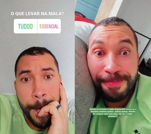 """Gil do Vigor revela ansiedade nos preparativos para viagem aos EUA: \""""Surtando\"""""""