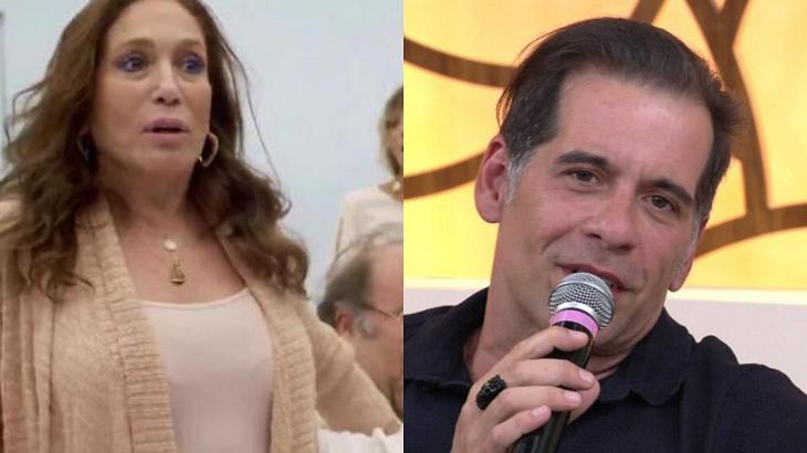 Susana Vieira e Leandro Hassum