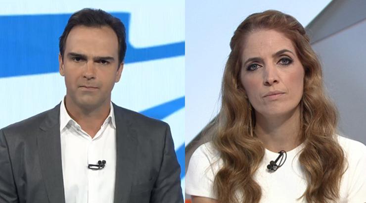Tadeu Schmidt e Poliana Abritto