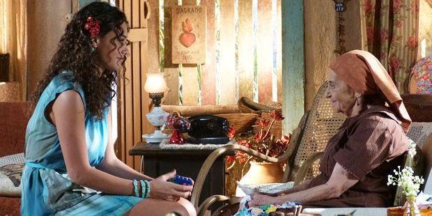 """Flor do Caribe: Veridiana manda real sobre o neto para Taís: \""""Vai ser sempre uma criança\"""""""