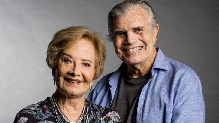 Tarcísio Meira e Glória Menezes juntos
