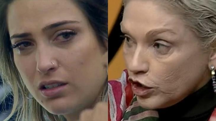 Andréa Nóbrega criticou Tati Dias e pediu a saída dela de A Fazenda 2019