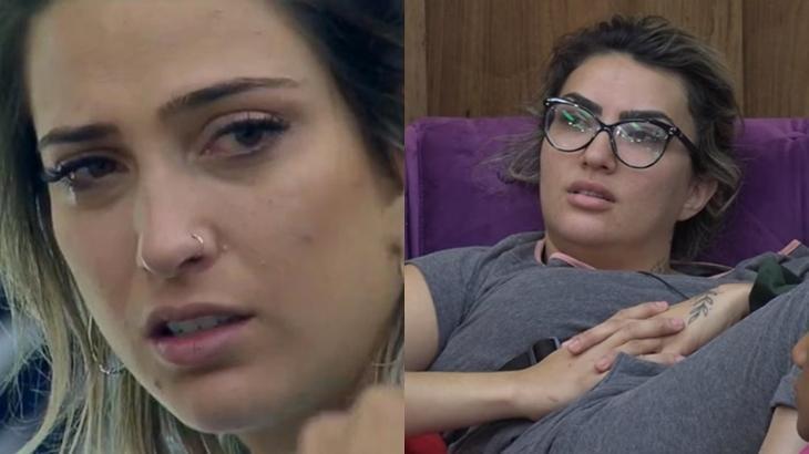 Gansos causaram discussão entre Thayse e Tati Dias no reality show A Fazenda 11