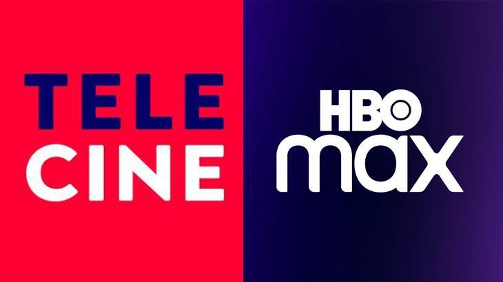 Logo Telecine; Logo Hbo Max