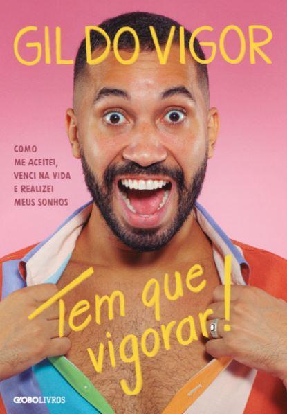 """Gil do Vigor revela capa do seu livro: """"É puro regozijo"""""""
