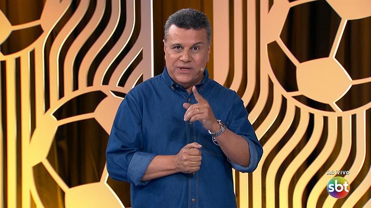 Téo José comanda transmissão da final do Campeonato Carioca no SBT