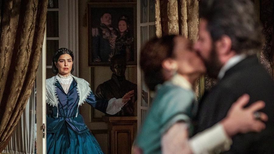 Nos Tempos do Imperador: Pedro manda a real sobre Luísa e imperatriz sente o golpe