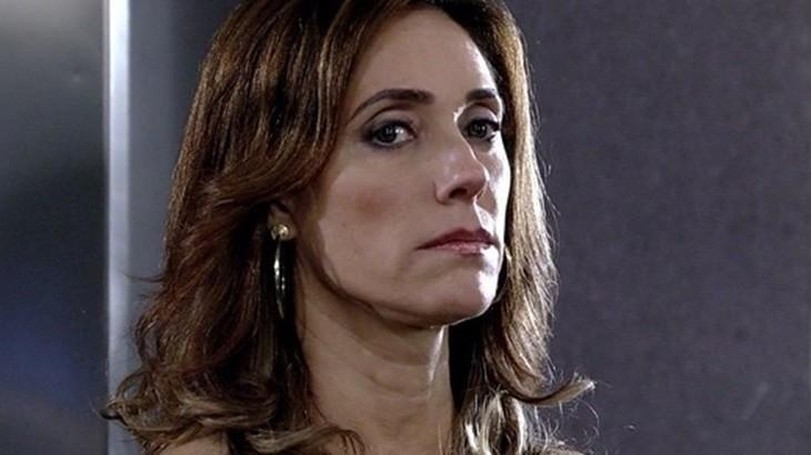 A atriz Christiane Torloni em Fina Estampa