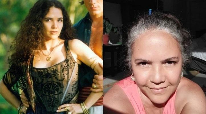Tereza Seiblitz é a cigana Dara da novela Explode Coração, disponível no Globoplay