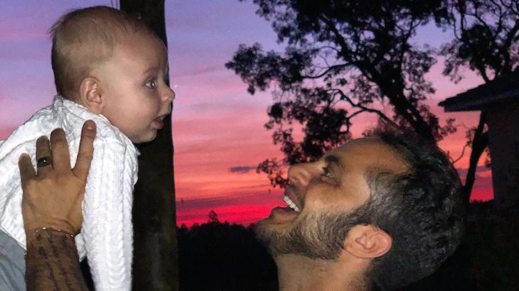 Thammy Miranda e o filho, Bento